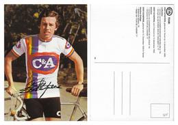 CARTE CYCLISME EDDY SCHEPERS TEAM C&A 1978 - Radsport