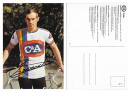 CARTE CYCLISME MARCEL LAURENS TEAM C&A 1978 - Radsport