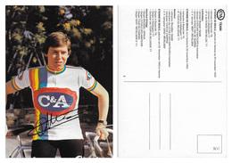 CARTE CYCLISME ETIENNE DE BEULE TEAM C&A 1978 - Radsport