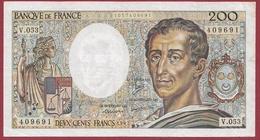 """200 Francs """"Montesquieu"""" 1987 ----TTB+----ALPH.V.053 - 200 F 1981-1994 ''Montesquieu''"""
