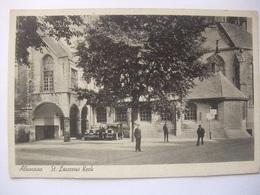 T52 Ansichtkaart Alkmaar - Sint Laurens Kerk - 1939 - Alkmaar