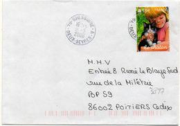 France N° 3897 Y. Et T. Deux Sèvres Bressuire A Cachet A9 Du 16/05/2006 - Marcophilie (Lettres)