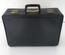 Rare Bagage Cabine Flight Case ? SABENA Années 60 Valise Valisette Noire V.I.P. Koffer Koffertje - Badges D'équipage