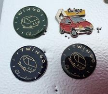 Lot De 3 Twingo Et 1 Clio - Renault
