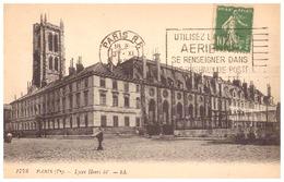 1773  PARIS  Ve  -LYCEE HENRI IV   1922-CARTE DE CORRESPONDANCE : GRANDS MAGASINS DU LOUVRE - Altri Monumenti, Edifici