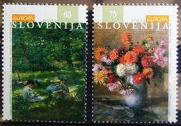 EUROPA        ANNEE 1996          SLOVENIE           N° 134/135           NEUF** - Europa-CEPT