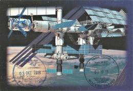 Space Mail/ Astronaut Autograph Cosmonaut Autograph/ Unique Flown Card Sent From ISS - Spazio