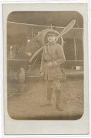 TOP AVION AVIONS AVIATEUR AVIATEURS PILOTE PILOTES BIPLAN BIPLANS MITRAILLEUSE MILITAIRE SOLDAT GUERRE 1914 - 1914-1918: 1ère Guerre