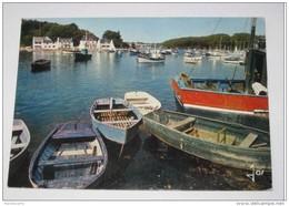 M572 Dept29 Moelan Sur Mer  Le Port De  Belon  Et Riec Sur Belon  1977 (chalutier Bateau Barque Petit Port Breton - Moëlan-sur-Mer