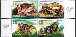Bosnia & Herzegovina 2016 MiNr. 441 - 444  Bosnien-Herzegowina Amphibians Frogs 4v  MNH** 10,00 € - Frogs