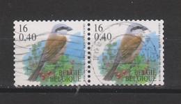 COB 2931 En Paire Oblitéré Cachet Rond Central - 1985-.. Uccelli (Buzin)