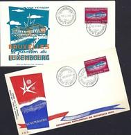 Luxembourg  -  FDC  -  16.IV.1958 - Exposition Universelle De Bruxelles 1958 - Bruxelles Le Pavillon - FDC