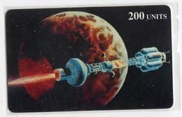 ITALIE Prépaid DELTA CARD 200U ESPACE PLANETE - Astronomia