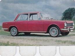 Figurine Publicitaire Coop L'Auto à Travers Les âges - N°50 - Simca 1500 - Années 60/70 - Tôle - Autres