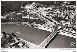 CPM..92..EN AVION SUR BOULOGNE BILLANCOURT ET SAINT CLOUD..FORMAT CPA - Boulogne Billancourt