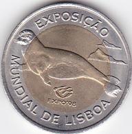 Portugal - 100 Escudos (100$00) 1997 Bimetallic Expo 1998- UNC - Portugal