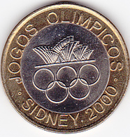 Portugal - 200 Escudos (200$00) 2000 Sidney Olympics Bimetallic UNC - Portugal