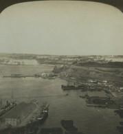 Algerie Oran Fort Santa Cruz Panorama Ancienne Photo Stereo Stereoscope White 1900 - Stereoscopic