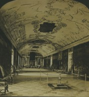 Danemark Copenhague Palais De Rosenberg Ancienne Photo Stereo Stereoscope White 1900 - Stereoscopic