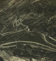 Norvege Route Grotlid Marok Ancienne Photo Stereo Stereoscope White 1900 - Stereoscopic