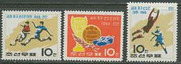 North Korea 1966 Football Soccer World Cup Set Of 3 MNH - 1966 – England