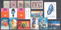 Finland - Mix Of 16 Different Stamps - Used - 01 - Finland