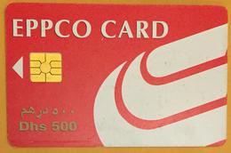 EPPCO CARD CARTE DE MICRO PAIEMENT CARTE À PUCE  BANCAIRE - Emiratos Arábes Unidos