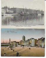 Dunkerque : Le Quai De La Citadelle Et Du Leughenaer - Dunkerque