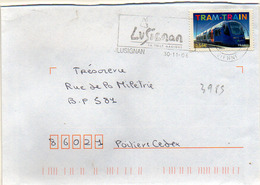 France N° 3985 Y. Et T. Vienne Lusignan Flamme Illustrée Du 30/11/2006 - Marcophilie (Lettres)