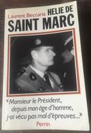 Livre Helie De Saint Marc Beccaria Dédicacé 1989 - Books