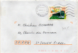 France N° 3995 Y. Et T. 62 Henin Beaumont Cdis Flamme Muette Du 16/01/2007 - Marcophilie (Lettres)
