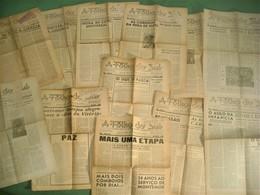 Montemor-o-Novo - 21 Jornais A Folha Do Sul, Anos 1944/45/46 (Bastante Ilustrados) - Imprensa - General Issues