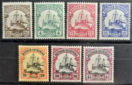 DEUTSCH-OSTAFRIKA 1905 - MNH - Mi 22-28 - Colony: German East Africa