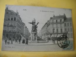 59 7312 CPA 1905 - 59 LILLE. LE MONUMENT DE TESTELIN - ANIMATION - Lille