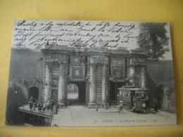 59 7324 CPA 1906 - AUTRE VUE DIFFERENTE N° 2 - 59 LILLE. PORTE DE TOURNAI - ANIMATION. TRAMWAY. - Lille