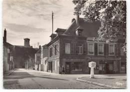 Givet. Tour Gregoire Et Cafés Des Marronniers. Edit Cim. CPSM .  Pub Biere Slavia - Givet