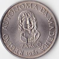 Madeira - 25 Escudos (25$00) 1981 Madeira Autonomy - Monnaies
