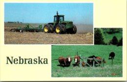 Nebraska Greetings With Farming Scenes - Autres
