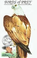 30V: CM,Carte Maximum Card,Malaysia Bird Of Prey, Eagle, Hawk, Maxicard,MC - Eagles & Birds Of Prey