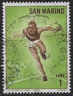 San Marino SG743 1964 Olympic Games, Tokyo (2nd Issue) 1l Good/fine Used [40/33170/7D] - San Marino