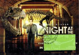 30V: CM,Carte Maximum Card, Singapore Dinosaur, Lee Kong Chien History Museum,maxicard,MC - Stamps