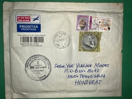 Registered Cover Romania 2005 , Olympic , Rafting  And Craft - Lettere