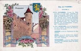 89 - Yonne -  Auxerre - Departement De L Yonne - Auxerre
