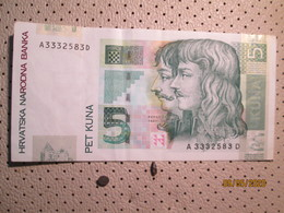 CROATIA 5 Kuna 2001 - Kroatien