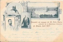 Souvenir Du Voyage De M. Felix Faure Président De La République Française, En Russie Août 1897 - Personnages Historiques