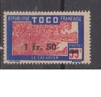 TOGO           N°  YVERT  : 228   NEUF AVEC  CHARNIERES      ( Charn   3/02  ) - Neufs