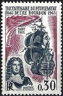 France 1965 - Mi 1525 - YT 1461 ( Settlement Of The Island Of Bourbon ) MNH** - Neufs