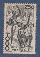 TOGO           N°  YVERT  : 244   NEUF AVEC  CHARNIERES      ( Charn   3/03  ) - Neufs