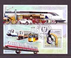 GUINEE-BISSAU 2006 TRAINS-METRO  Y N°B317  OBLITERE - Trains