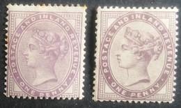 Gran Bretaña: Año. 1881 - ( Reina Victoria 2/Val. Filig, Tipo 49 - Perlas. 14-16 ) - 1840-1901 (Viktoria)